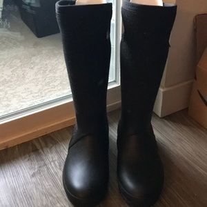 Bogs Crandall Tall Wool with Handles - Size 8